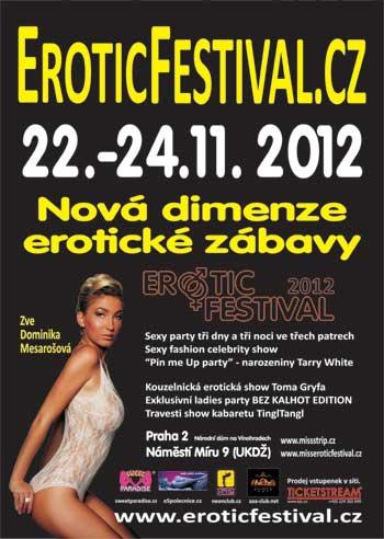 plakát festivalu erotiky v Praze 2012