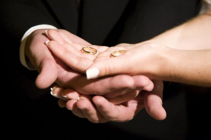 wedding rings and hands by mari171 (sxc.hu)